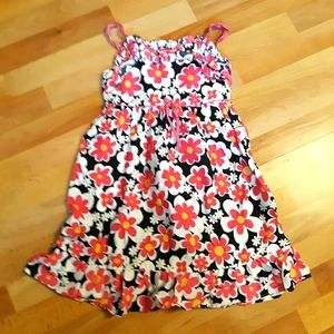 George floral summer dress with bow accent
